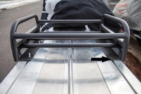 polaris pro rmk 2013 snowmobile rack