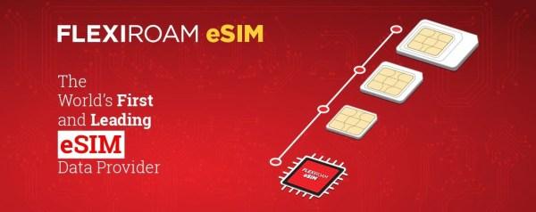 Travel with Flexiroam's eSIM! Source: Flexiroam
