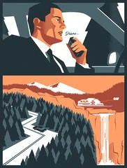 """Twin Peaks 'Diane'"" by Edward Tuckwell $45.00"