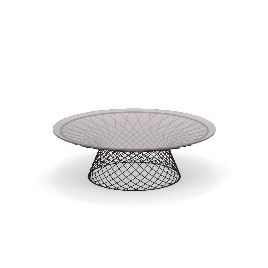 emu heaven low round coffee table 120 cm