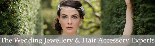 the wedding hair accessory and bridal jewellery experts.