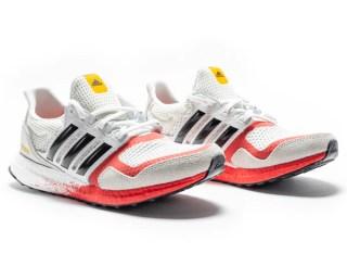 Adidas Ultra Boost DNA 'Orbit Grey / Lush Red' .99 Free Shipping