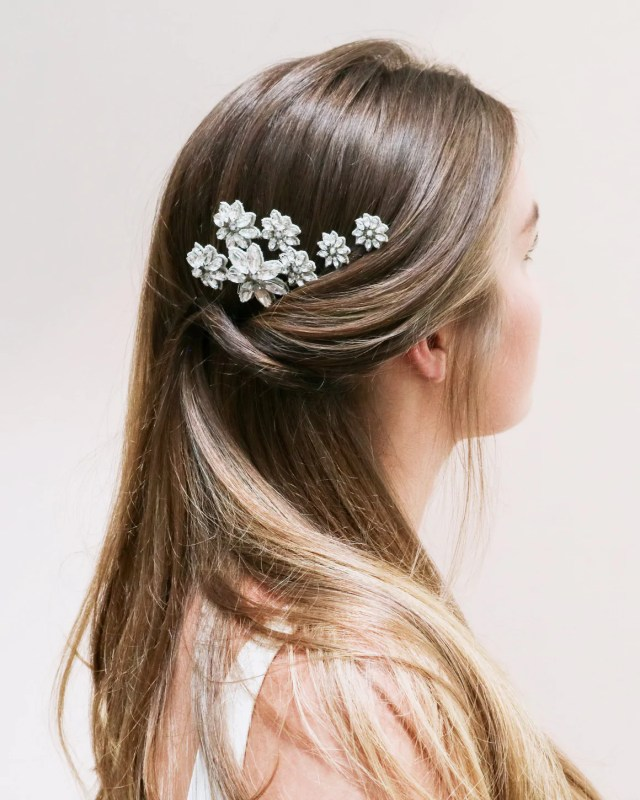 bridal hair accessories - exquisite pins, combs & more