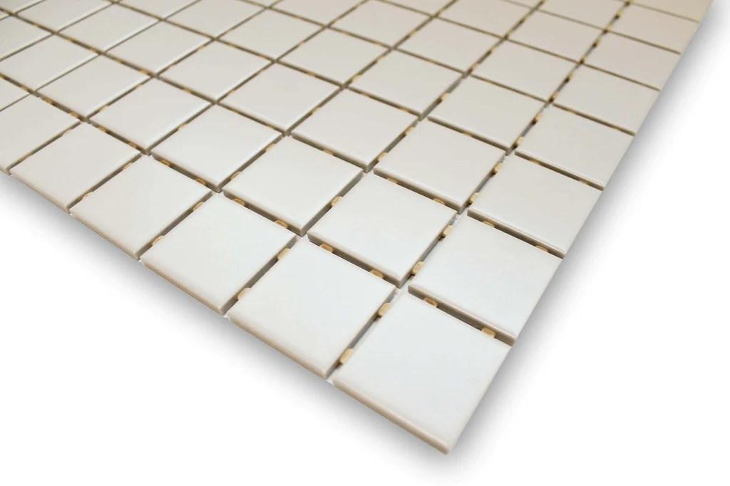 gray glazed porcelain 2x2 mosaic tiles