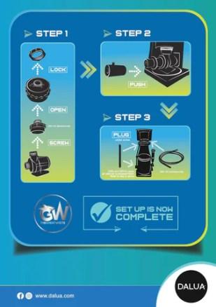 gw skimmer instructions