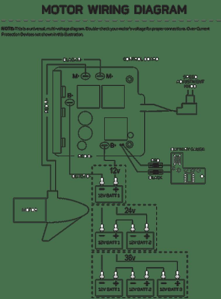 Minn Kota 12v Control Board Assembly 2774036 | Northland Marine