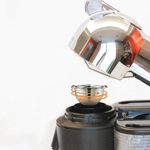 capsule reutilisable nespresso vertuo 70 ml capsule et kit