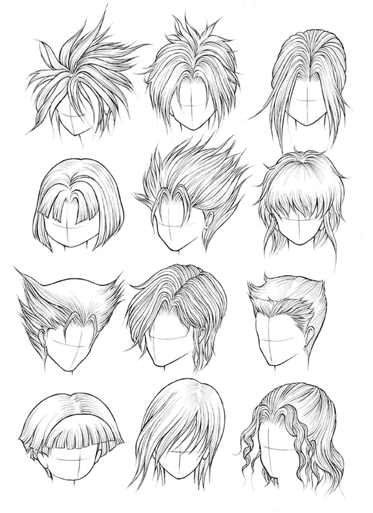 How to Draw Hair Part 2 – Manga University Campus Store