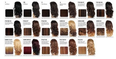 Vivica Fox Wigs Color Chart