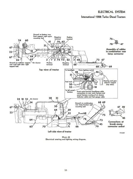 mccormick farmall and international 1206 turbo diesel tractors  operator's  manual
