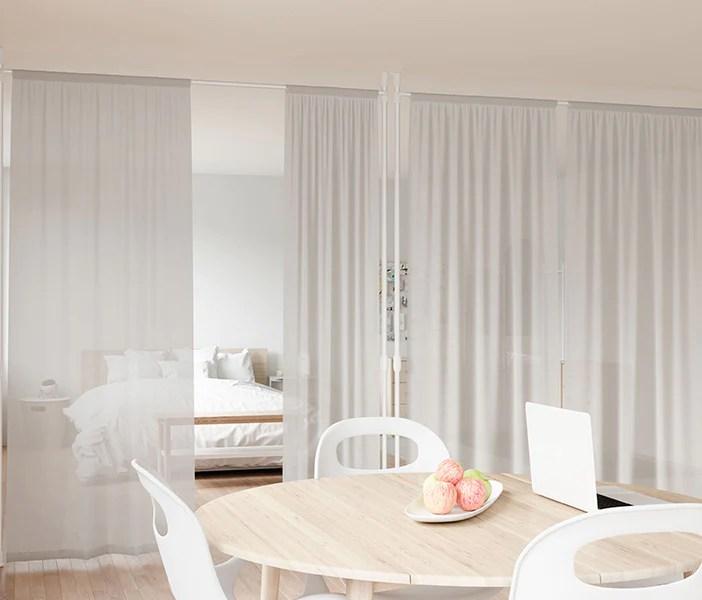 modern functional window curtain rods