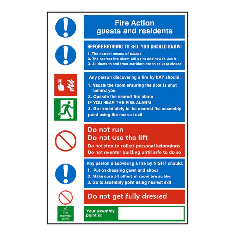 CO2 Fire Extinguisher Label Safety Signs Safety Stickers Safety Labels