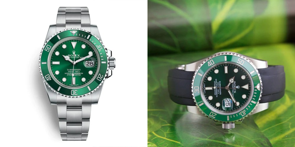 the rolex green hulk