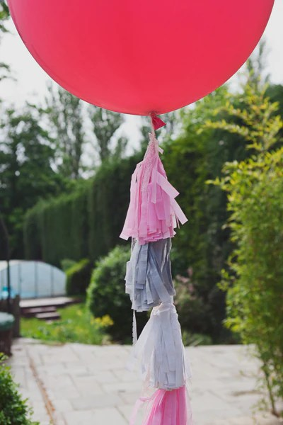 Balloon with Tassel Tail UK