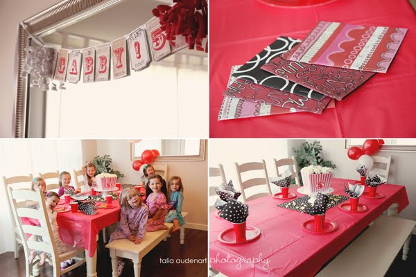 Kids Movie Party Ideas