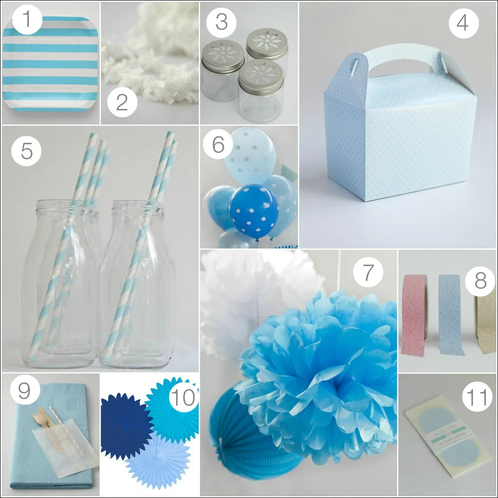 Disney's Frozen Party Supplies and Ideas