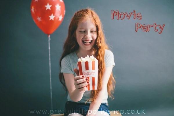 Movie Film Night Party Ideas