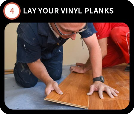 how to install a floating vinyl floor