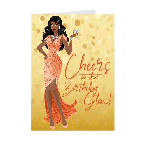 African American Birthday Cards Black Stationery
