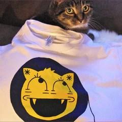 IDL Cat-face t-shirt