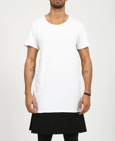 Men's Basic Long T-Shirt
