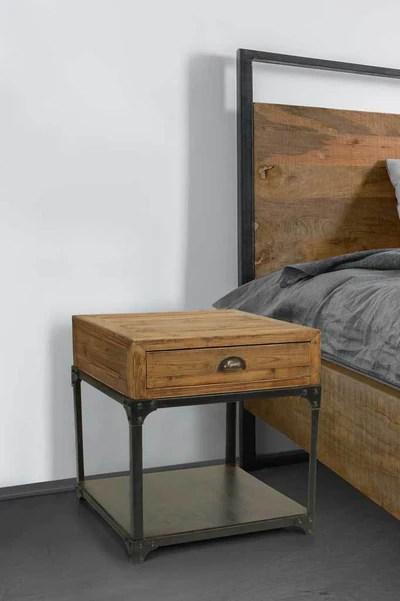 Manhattan Storage Side Table Furniture Online Fat Shack Vintage