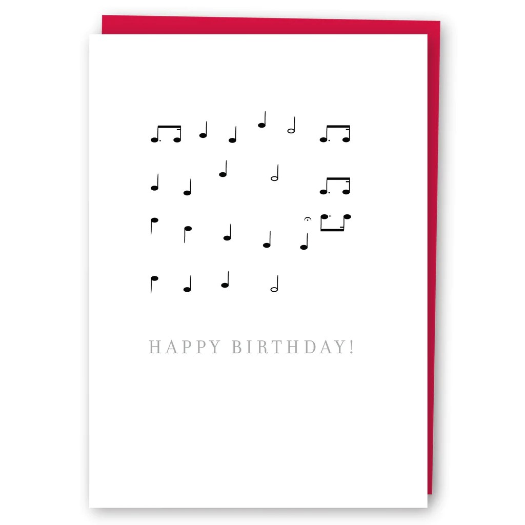 Music Notes Happy Birthday Shop The Symphony Music Inspired Gifts And Accessories