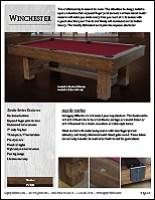 Winchester Spec Sheet