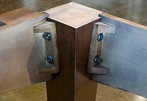 Post Leg Design for Pool Tables