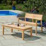 Alexander Rose Roble 4ft Garden Bench And Table Set Mid Ulster Garden Centre Hortus Vitae Ltd