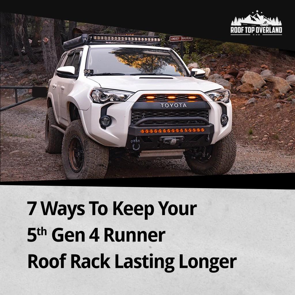 5th gen 4runner roof rack