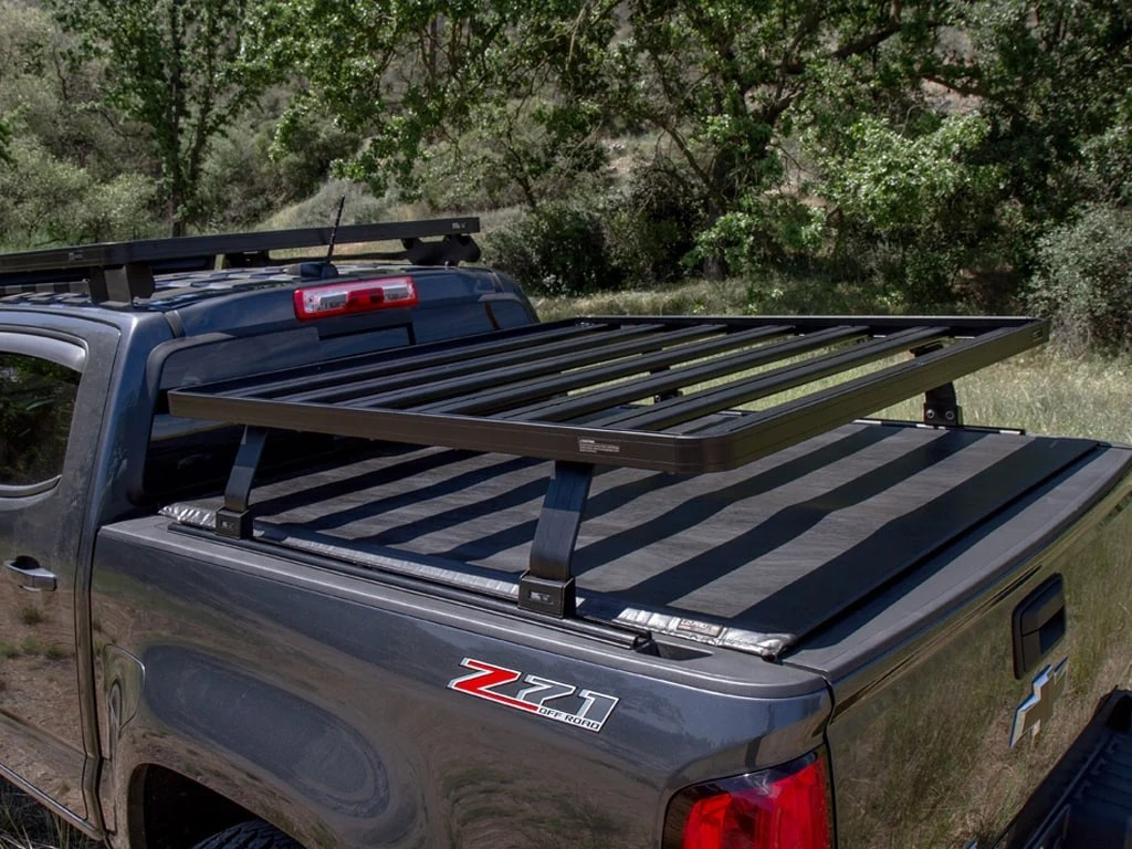 chevy tagged bed rack roof top overland