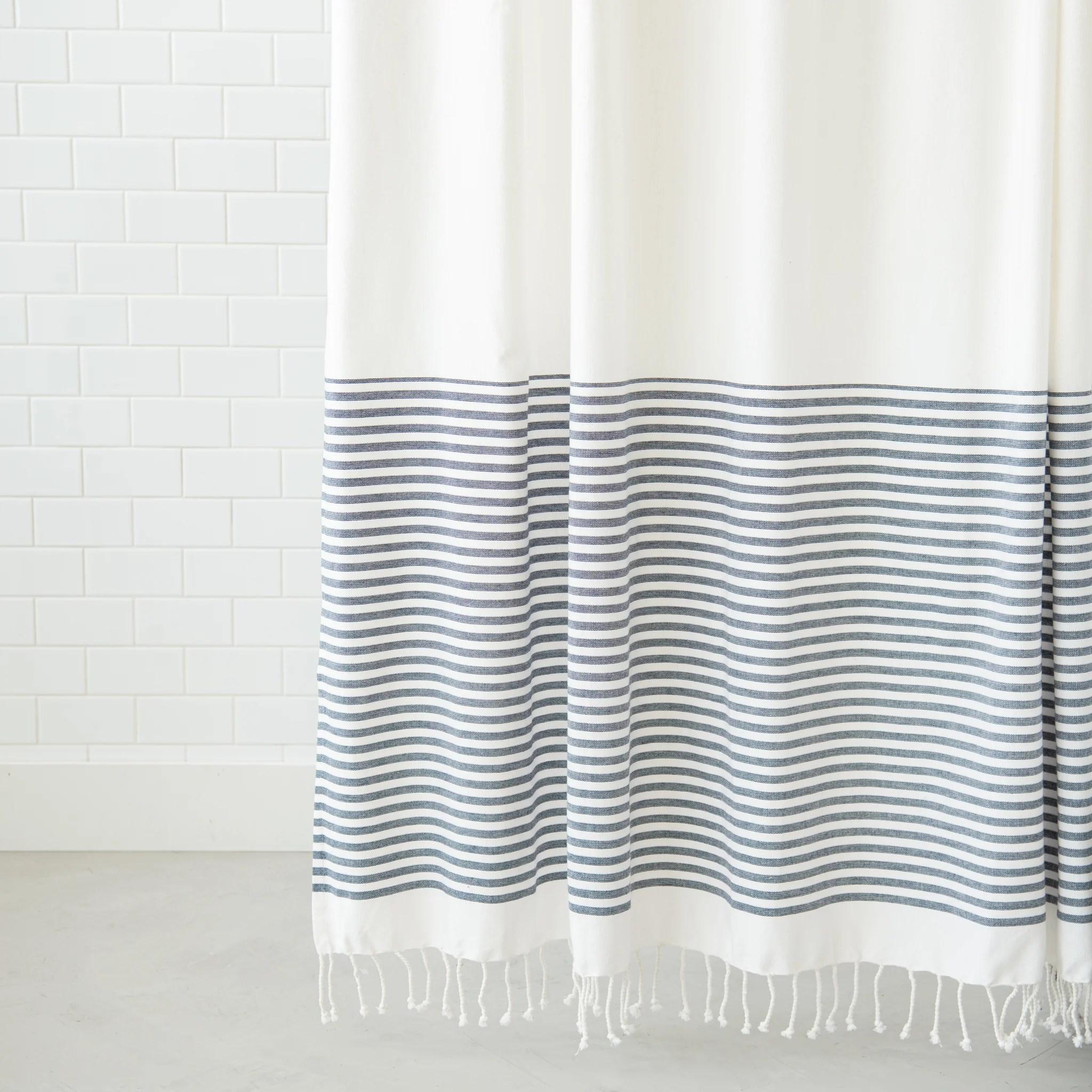 ava shower curtain magnolia
