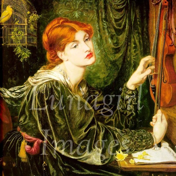 PreRaphaelite Paintings By Waterhouse Rossetti Digital