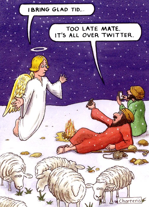 Humorous Christmas Card Too Late All Over Twitter
