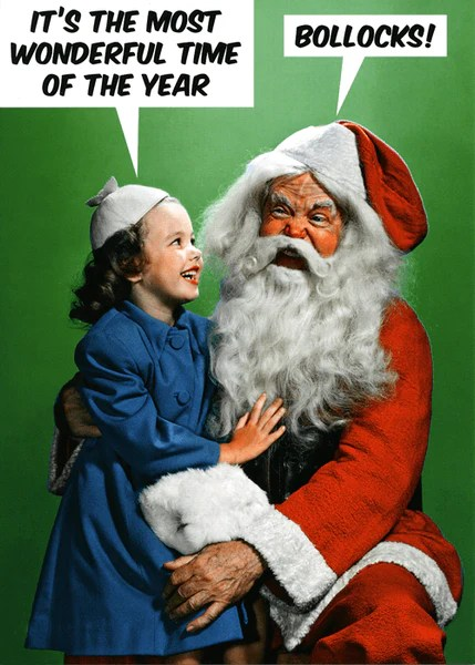 Funny Christmas Card Most Wonderful Time Of The Year