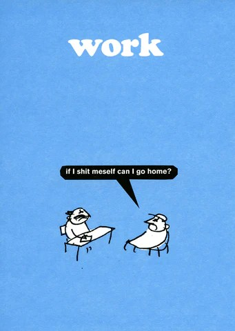 Funny Cards About Work Humorous Range Of Greeting Cards