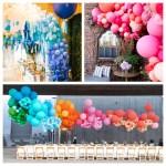 Our 5 Favorite Wedding Balloon Garland Ideas