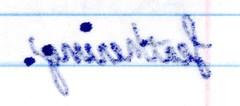 ink bleeding