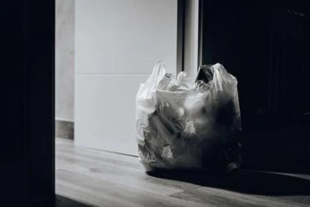 #4 plastic (LDPE) - plastic bag