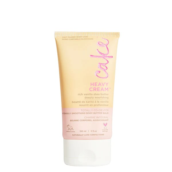 Cake Heavy Cream Body Lotion Hydrate Dry Skin Shea Butter
