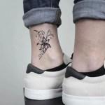 Jasmine Flower Temporary Tattoo Sticker Ohmytat
