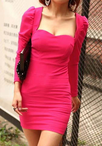 Sweetheart Bodycon Dress from Lookbook Store