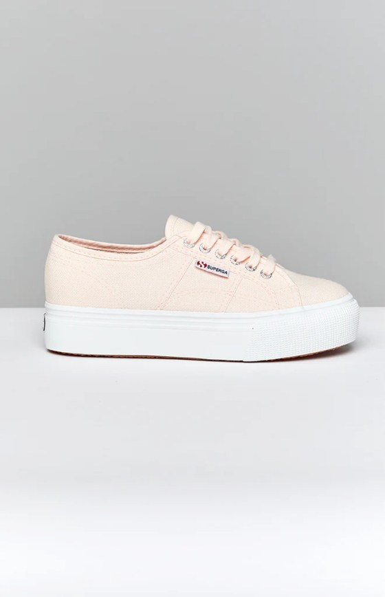 Superga 2790 LINEA Up Down Canvas Sneaker Pink 1