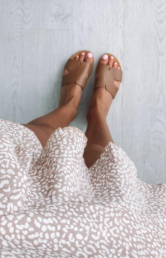 Just Because Agonda Sandal Tan 8