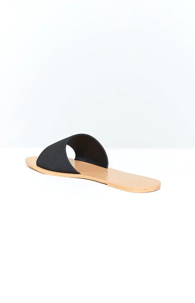 Billini Crete Sandals Black Nubuck 5