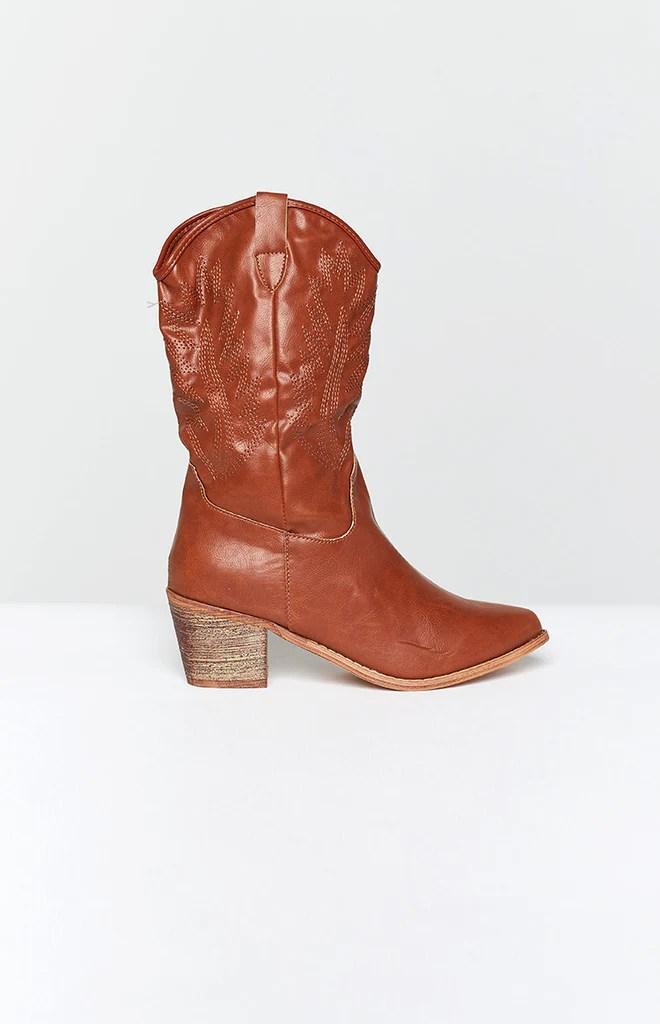 Saint Cowboy Boots Rust 4