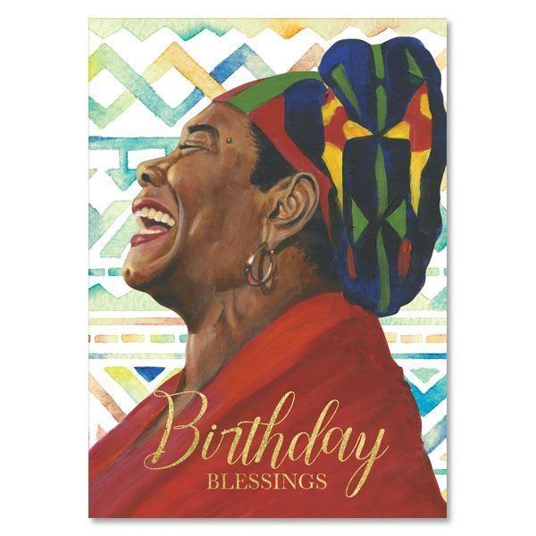 Birthday Blessings Maya Angelou African American Greeting Card The Black Art Depot