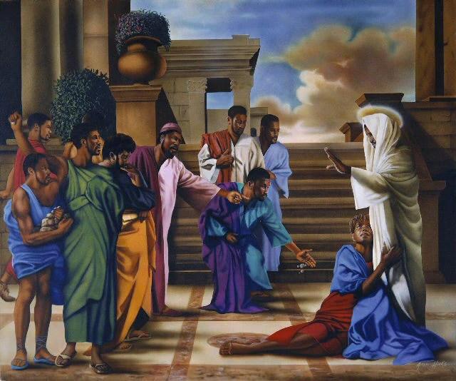 Black Painters Christian