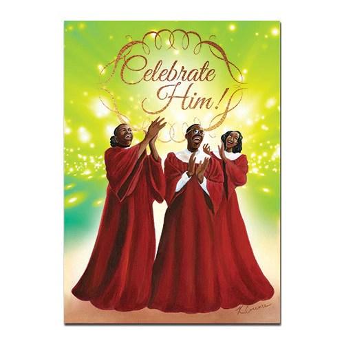 Celebrate Him African American Christmas Card Box Set
